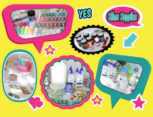 Slime Supplies every slime maker needs
