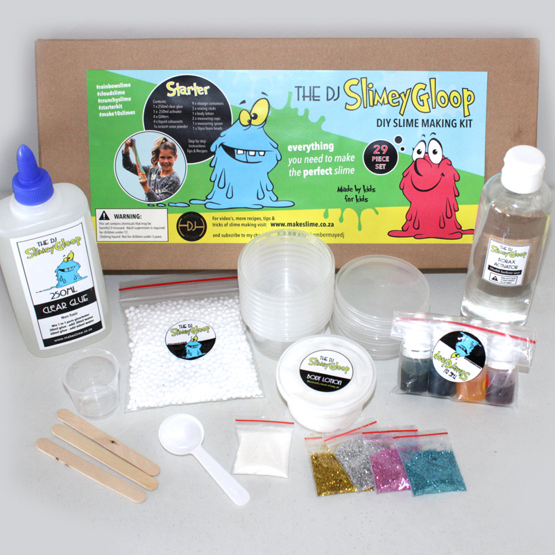 DIY STARTER SLIME KIT