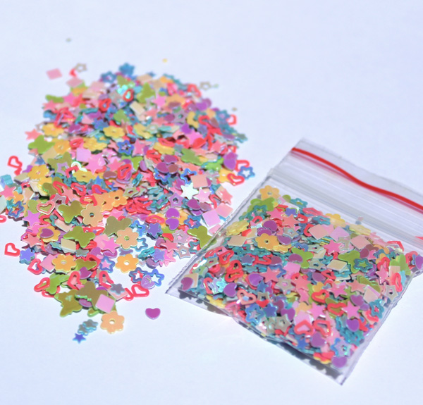Colourful Pastel Confetti