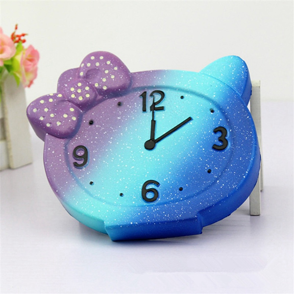 Pretty Clock Squishy
