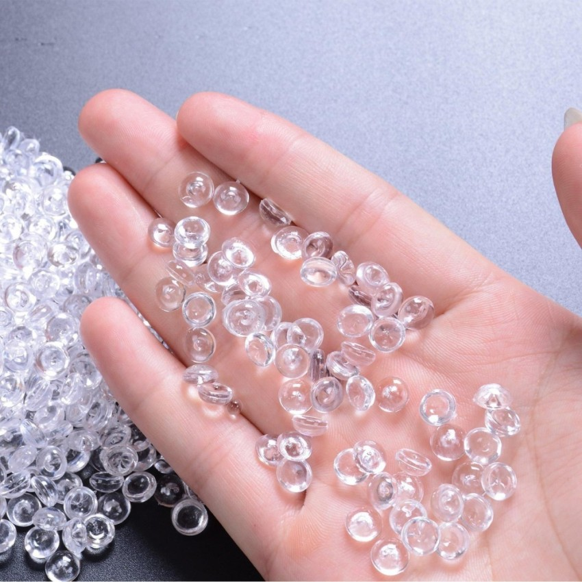Clear fish bowl beads