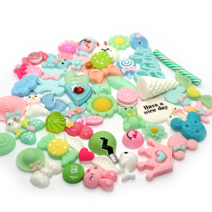 mixed slime charms