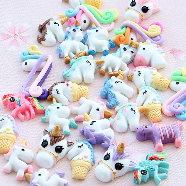 Unicorn Slime Charms