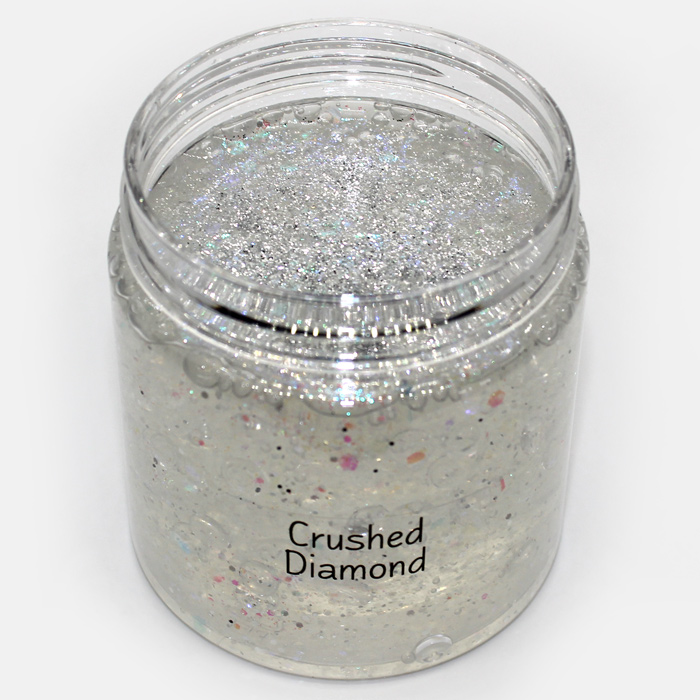 Crushed Diamond Clear Slime