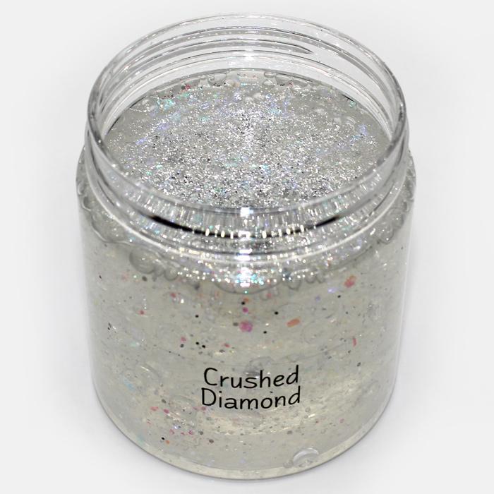 Crushed Diamond Clear Slime