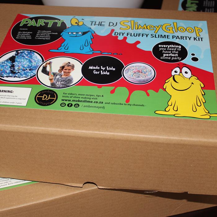 Party DIY slime kit