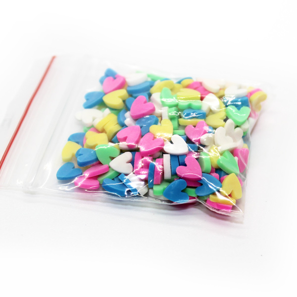 Lumo heart sprinkles for slime
