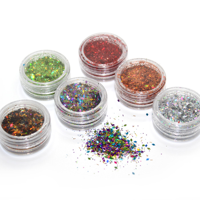 Shredded Diamond Glitter sets 3pcs