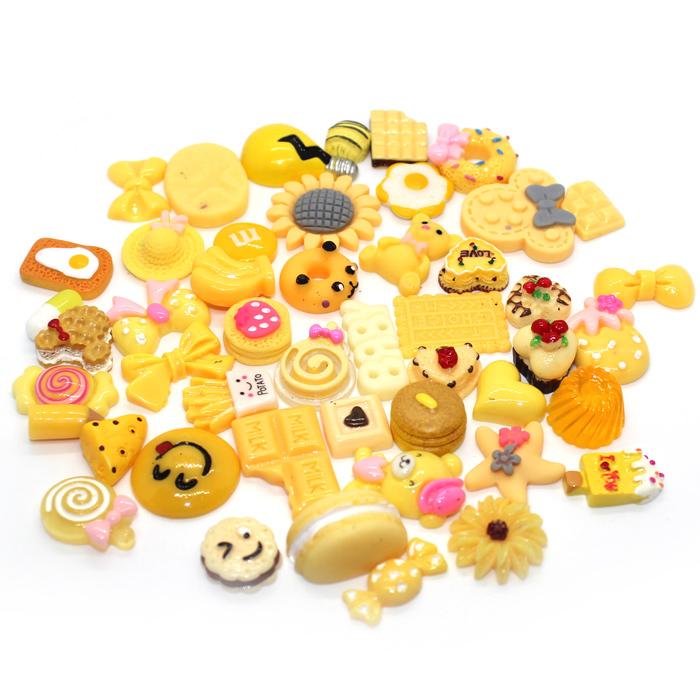 yellow treat slime charms