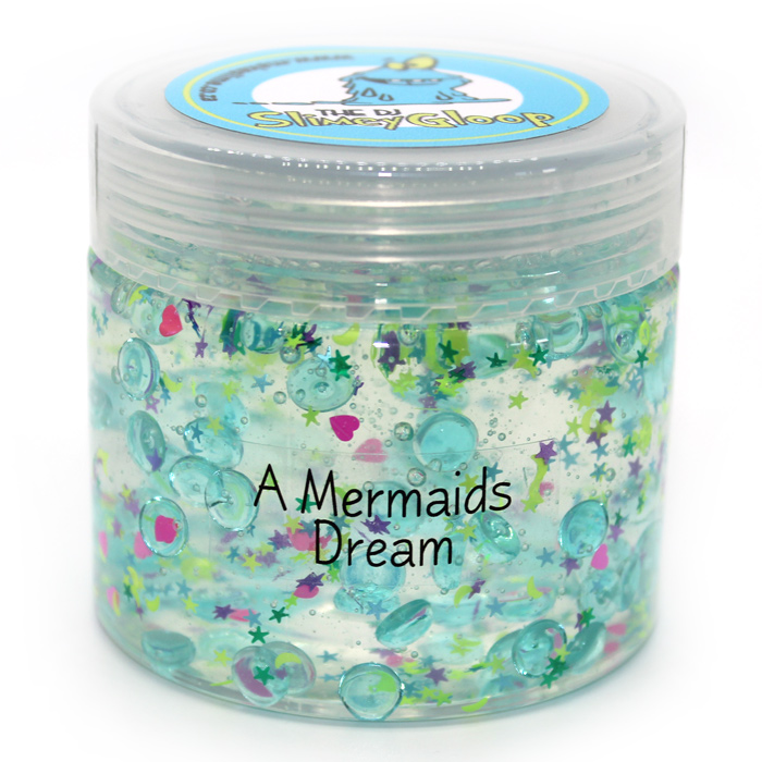 a mermaids dream clear slime