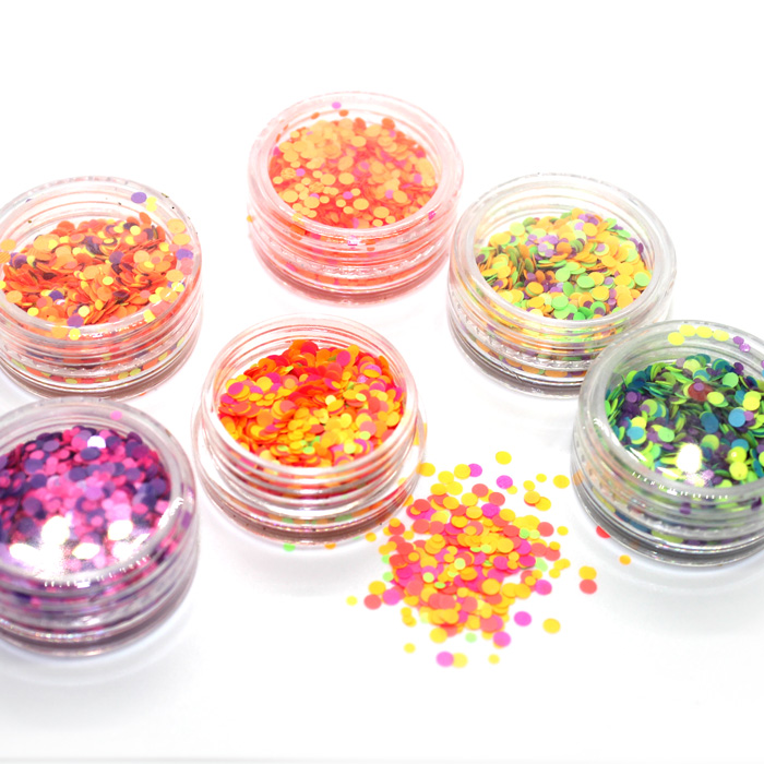 Retro Mixed Glitter Set 3pc