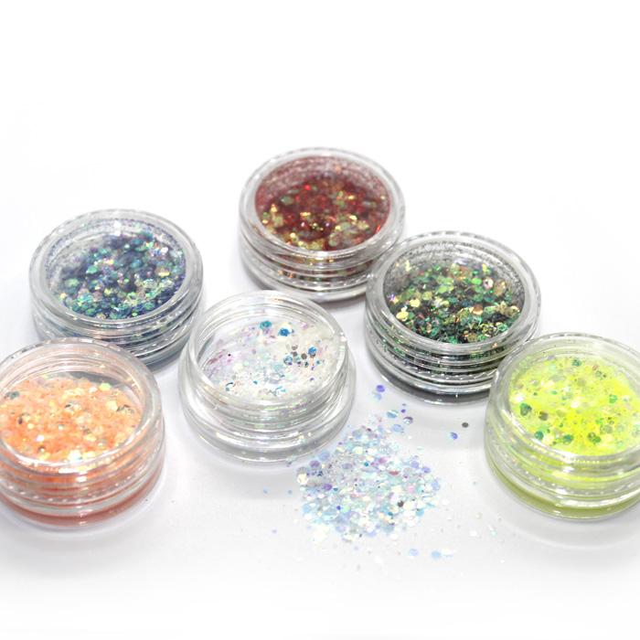 Shredded Hexagon Glitter