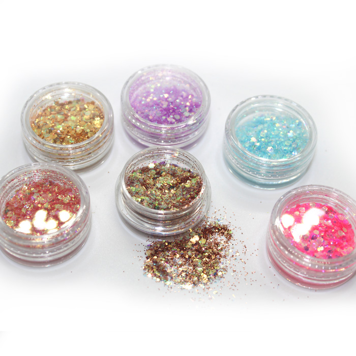 Shredded Hexagon Glitter