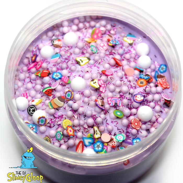 Wonderland Pop Crunchy Clay slime