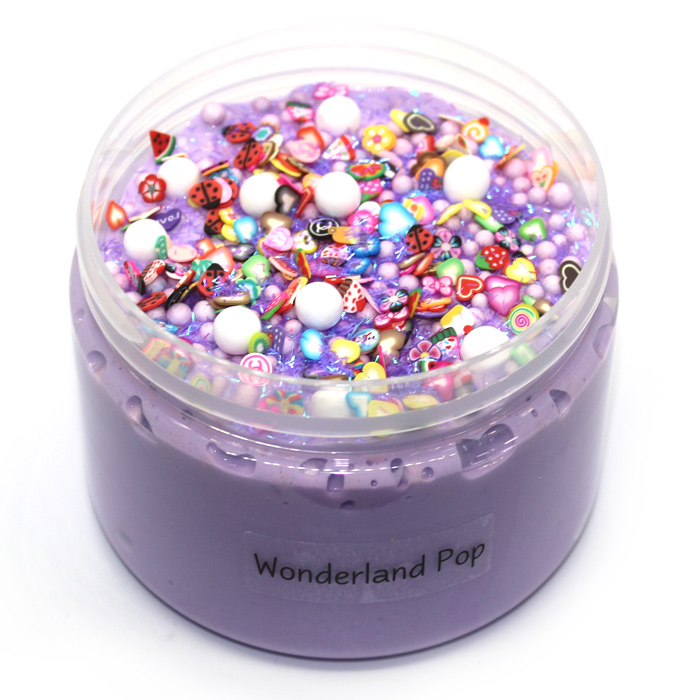 wonderland pop crunchy slime
