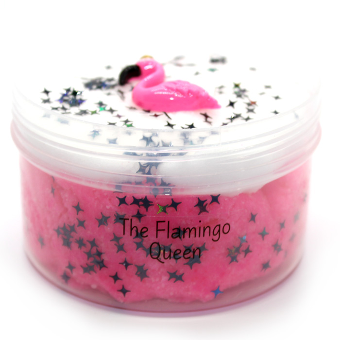 The flamingo queen cloud slime