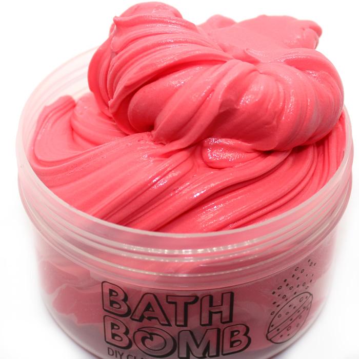 Bath bomb diy clay slime