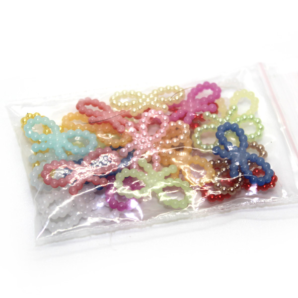 Coloured Bows Charm Sprinkles