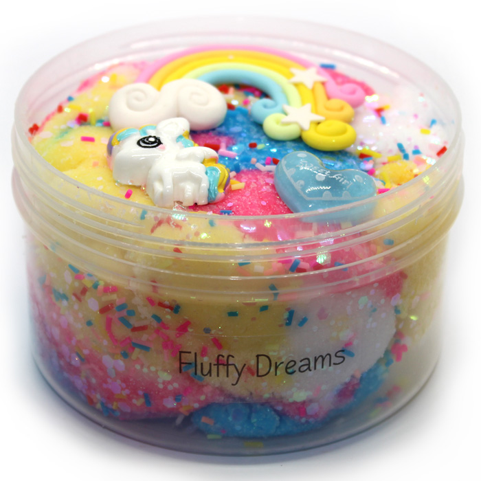 Fluffy Dreams Cloud Slime