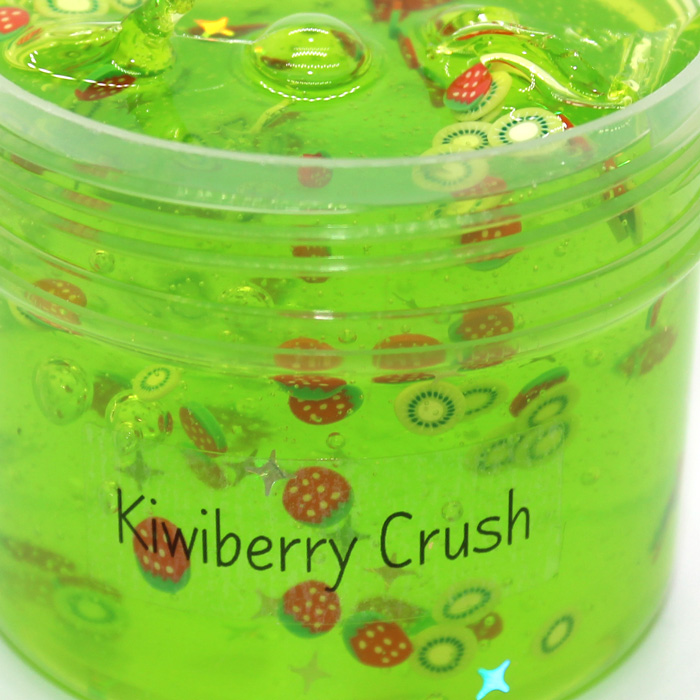 Kiwiberry Crush clear slime