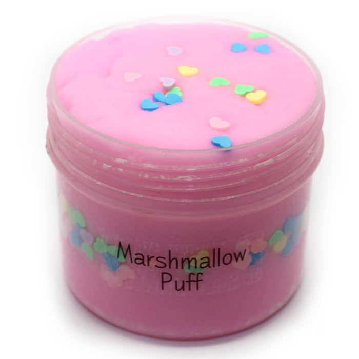 Marshmallow Puff cloud slime