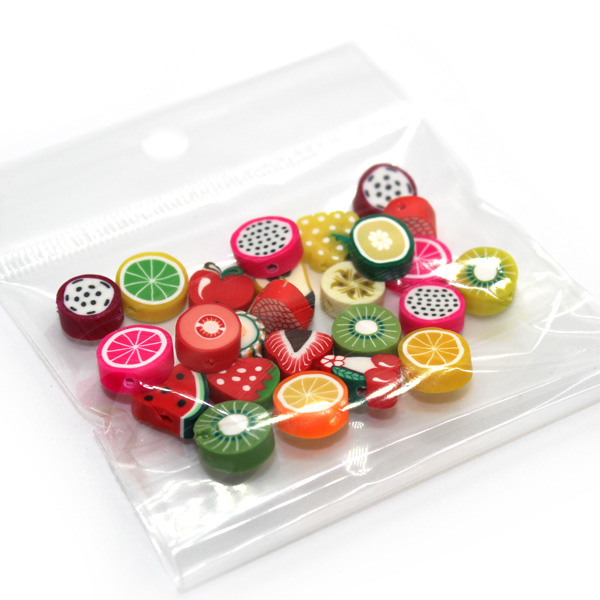 Thick Fruit Fimo slices for Slime