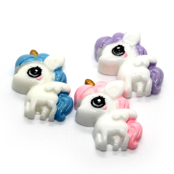 Baby Unicorn Charms 3pcs