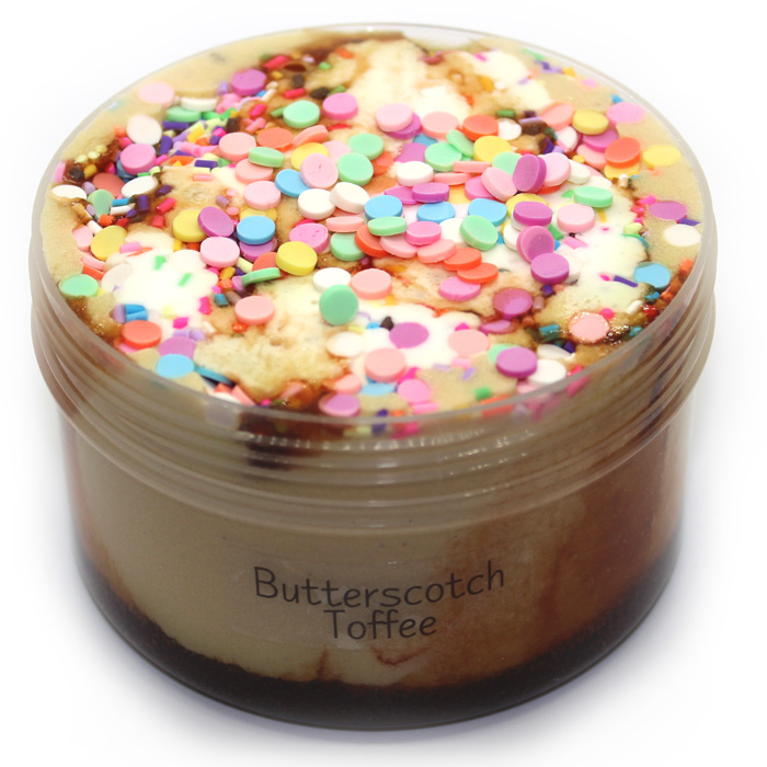 Butterscotch Toffee Cloud Creme Slime