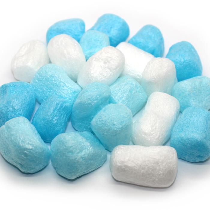 Foam chunks for slime