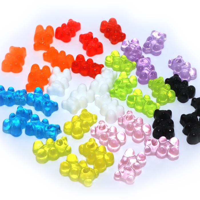 Gummy Bear Charms transparent