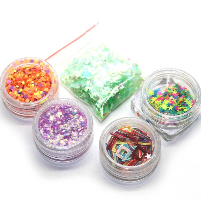 Confetti pots and Sugar paper set