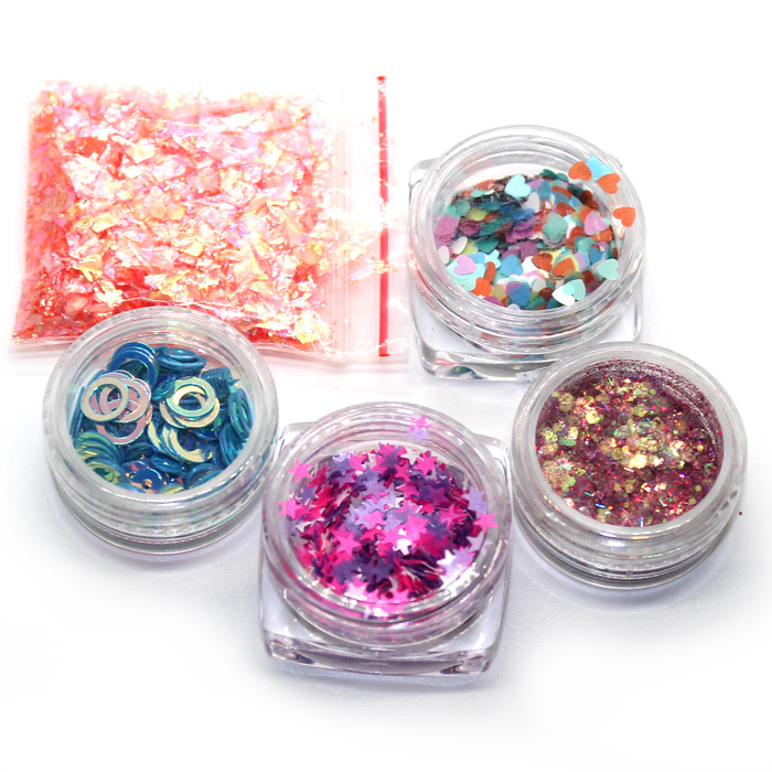 Confetti pots and Sugar paper set