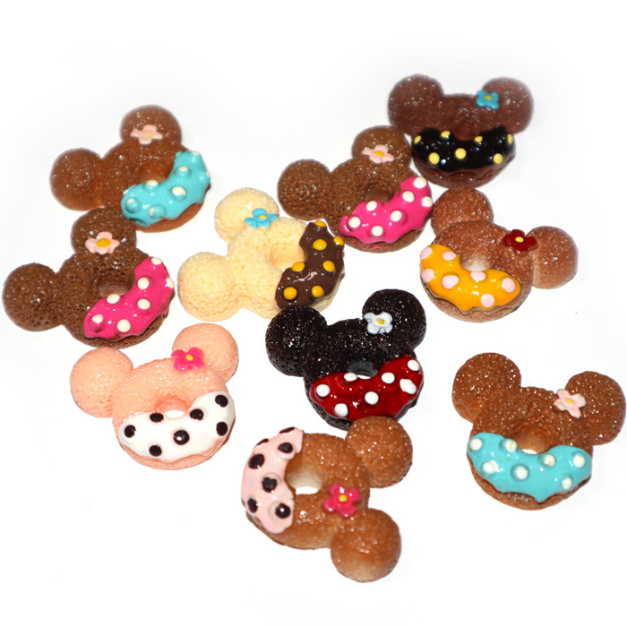 Mouse Donut Charms