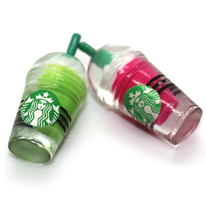 Starbucks charms 2pcs
