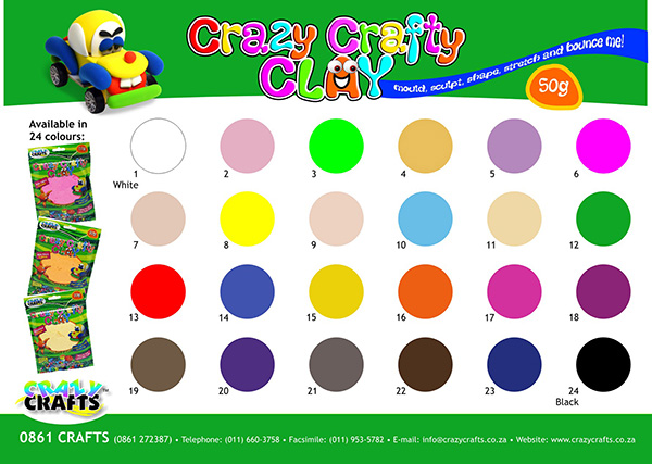 Crazy Crafts soft Clay