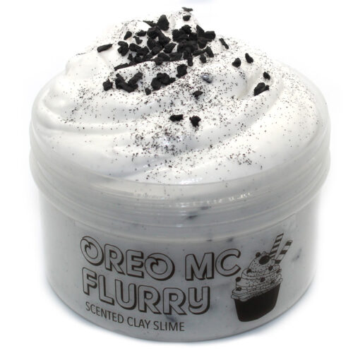 Oreo McFlurry scented clay Slime