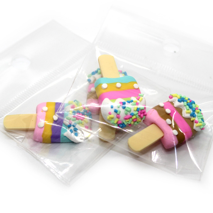 Icecream stick charms 2pc