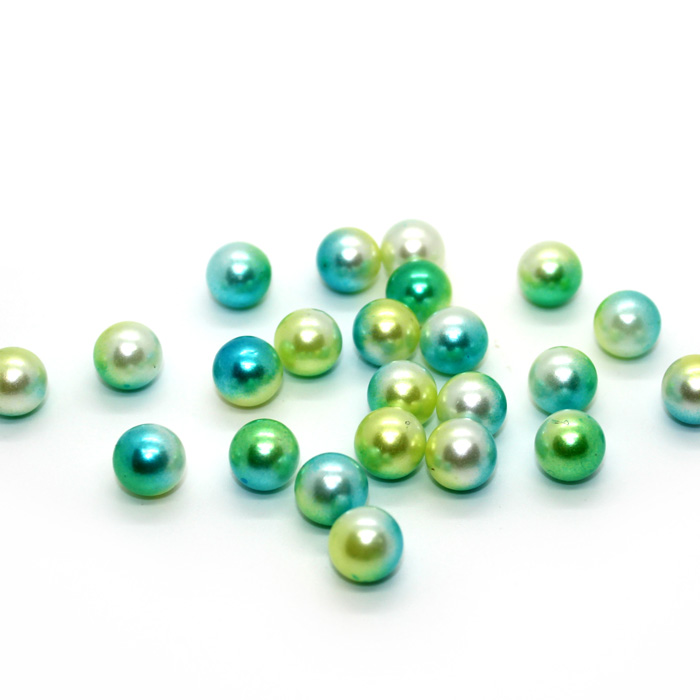 Pearl beads for slime Turquoise