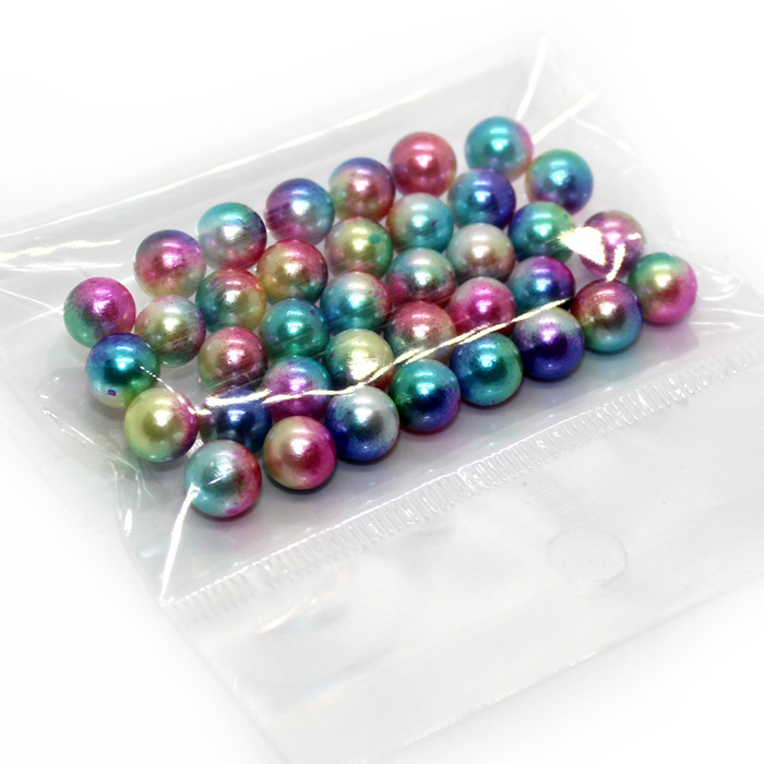 Pearl beads for slime Rainbow