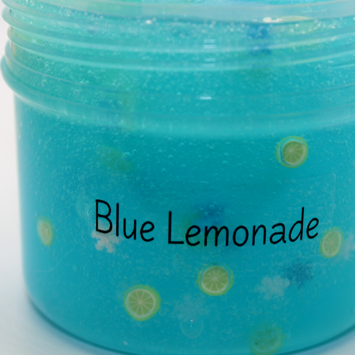 Blue lemonade Jelly Slime