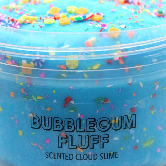 Bubblegum fluff scented cloud slime