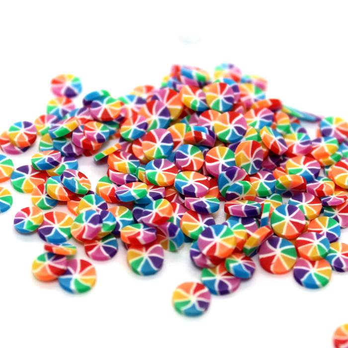 Rainbow Cake sprinkles for slime