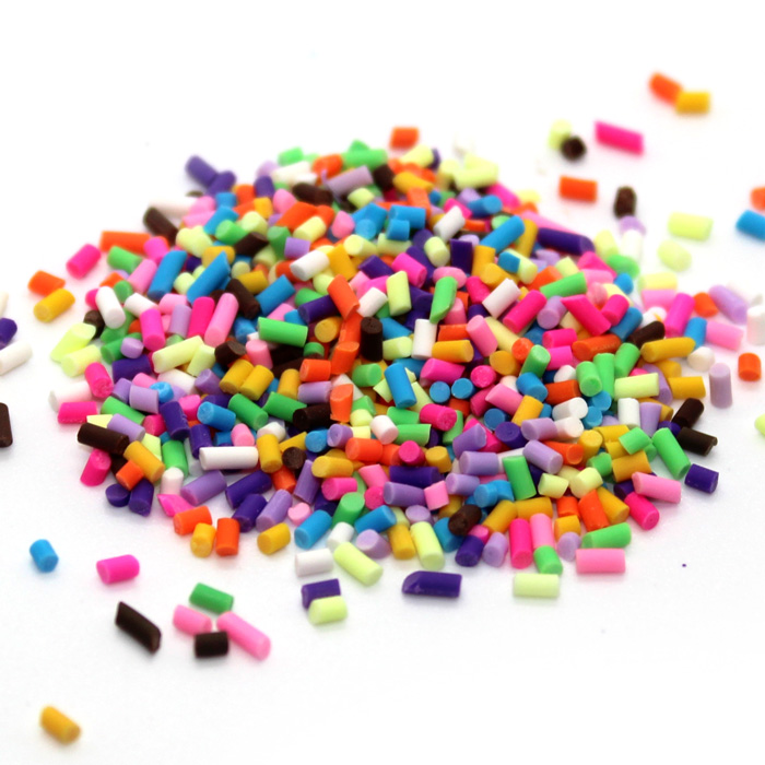 Candy sprinkles for slime
