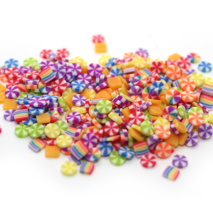 Carnival sprinkles for slime