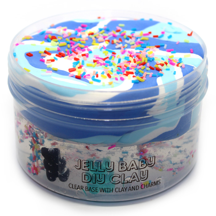 Jelly Baby DIY Clay Slime