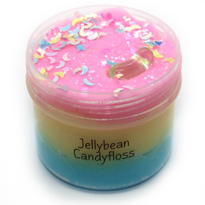 Jellybean Candyfloss Cloud slime
