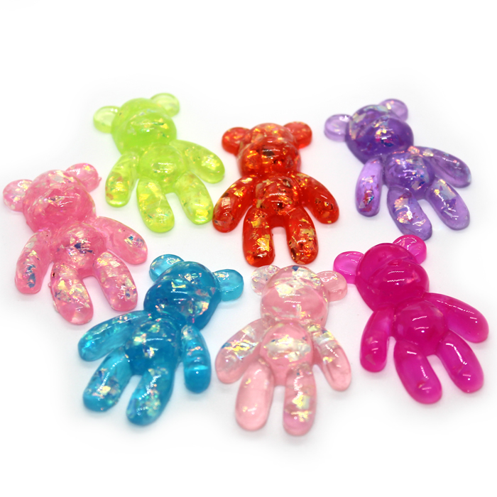 Jumbo Sugar Teddy charms