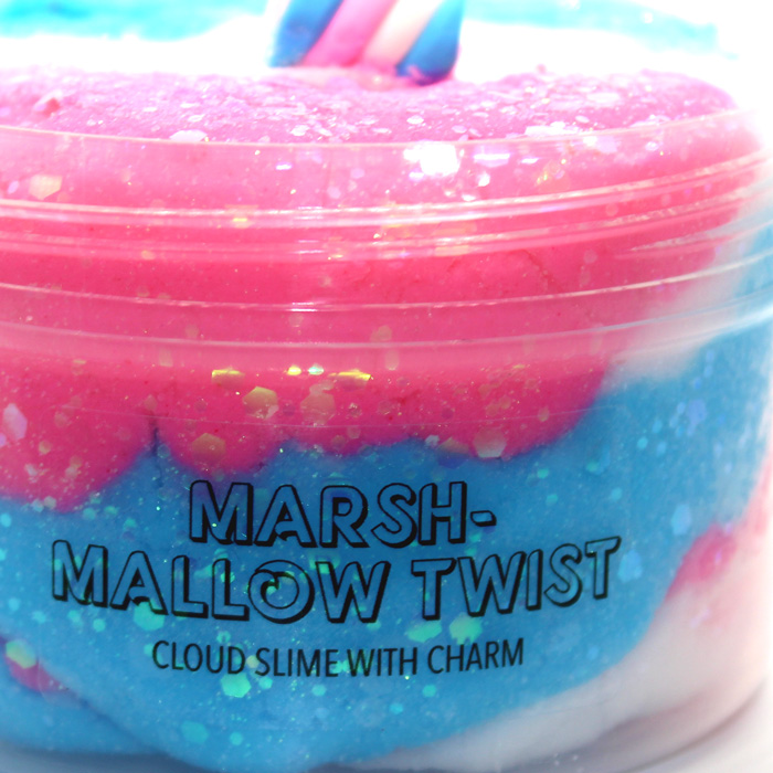 Marshmallow Twist Cloud Slime