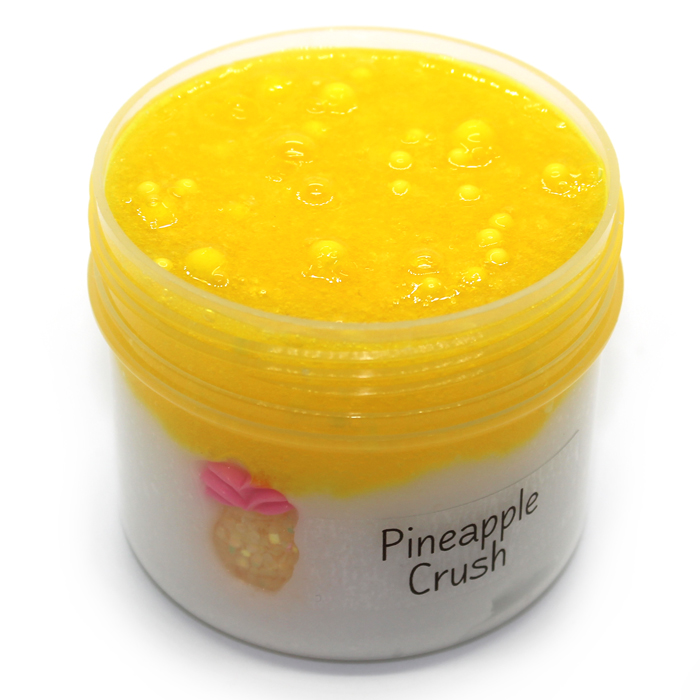 Pineapple crush Snow Fizz scented Slime