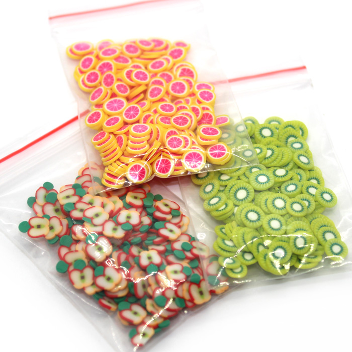 Single Fruit Fimo Slices